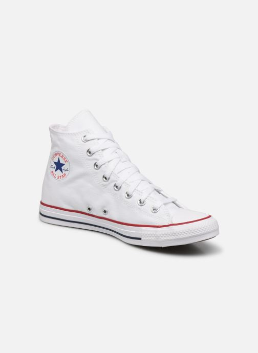 Baskets Converse Chuck Taylor All Star Hi M Blanc vue détail/paire