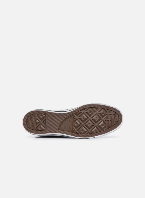 Sneaker Converse Chuck Taylor All Star Hi M schwarz ansicht von oben