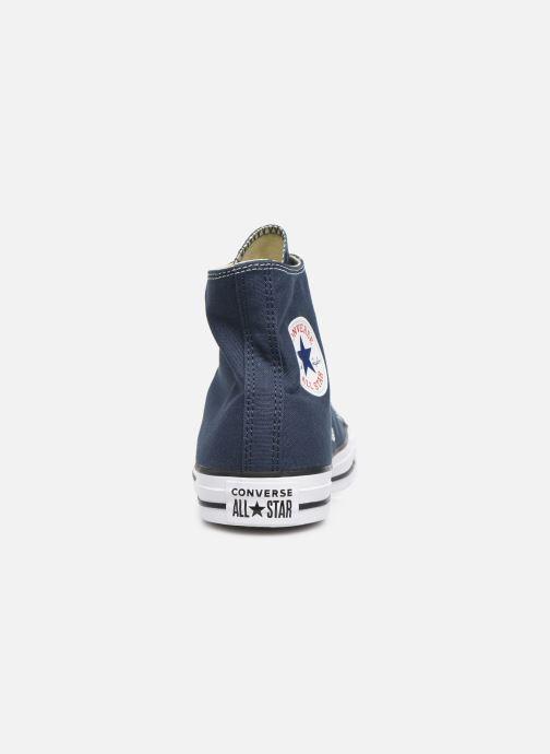 Sneaker Converse Chuck Taylor All Star Hi M blau ansicht von rechts