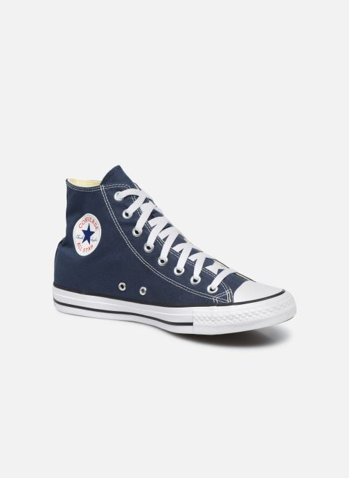 Baskets Converse Chuck Taylor All Star Hi M Bleu vue détail/paire
