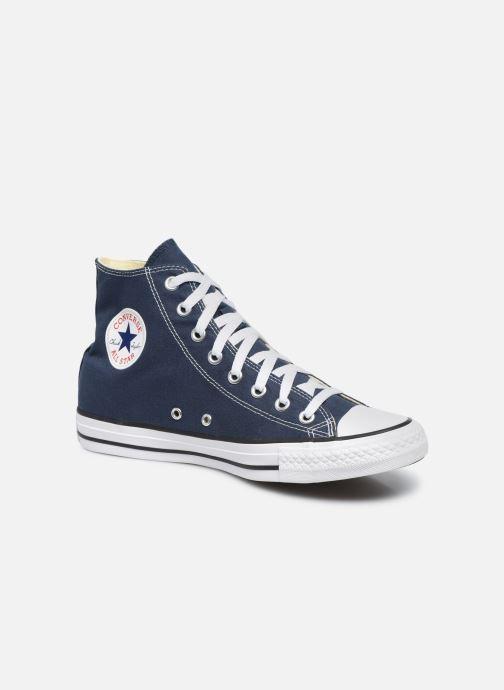 Baskets Converse Chuck Taylor All Star Hi M Bleu vue détail/paire