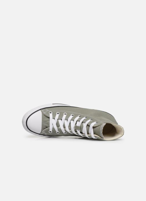 Trainers Converse Chuck Taylor All Star Hi Green view from the left