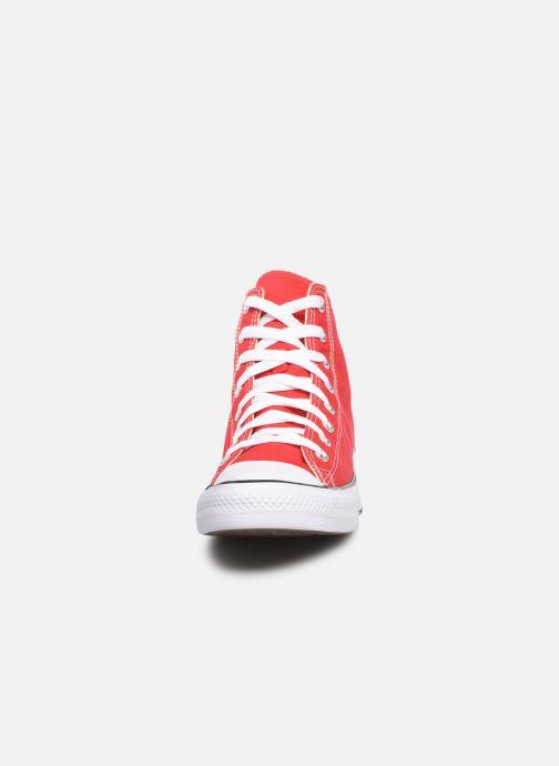 Sneaker Converse Chuck Taylor All Star Hi M rot schuhe getragen