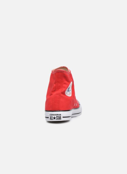 Trainers Converse Chuck Taylor All Star Hi Red view from the right