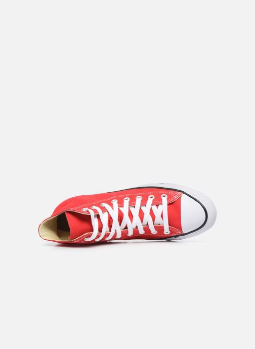 Trainers Converse Chuck Taylor All Star Hi Red view from the left