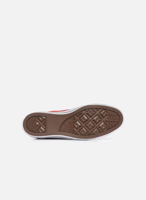 Sneaker Converse Chuck Taylor All Star Hi M rot ansicht von oben