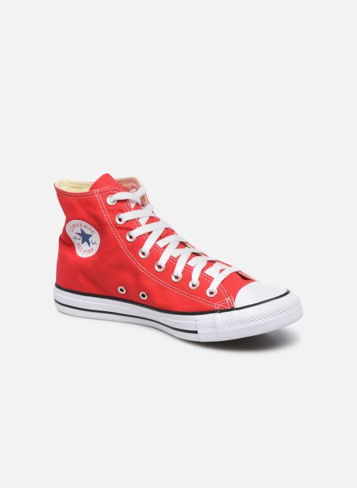 Baskets Converse Chuck Taylor All Star Hi M Rouge vue détail/paire