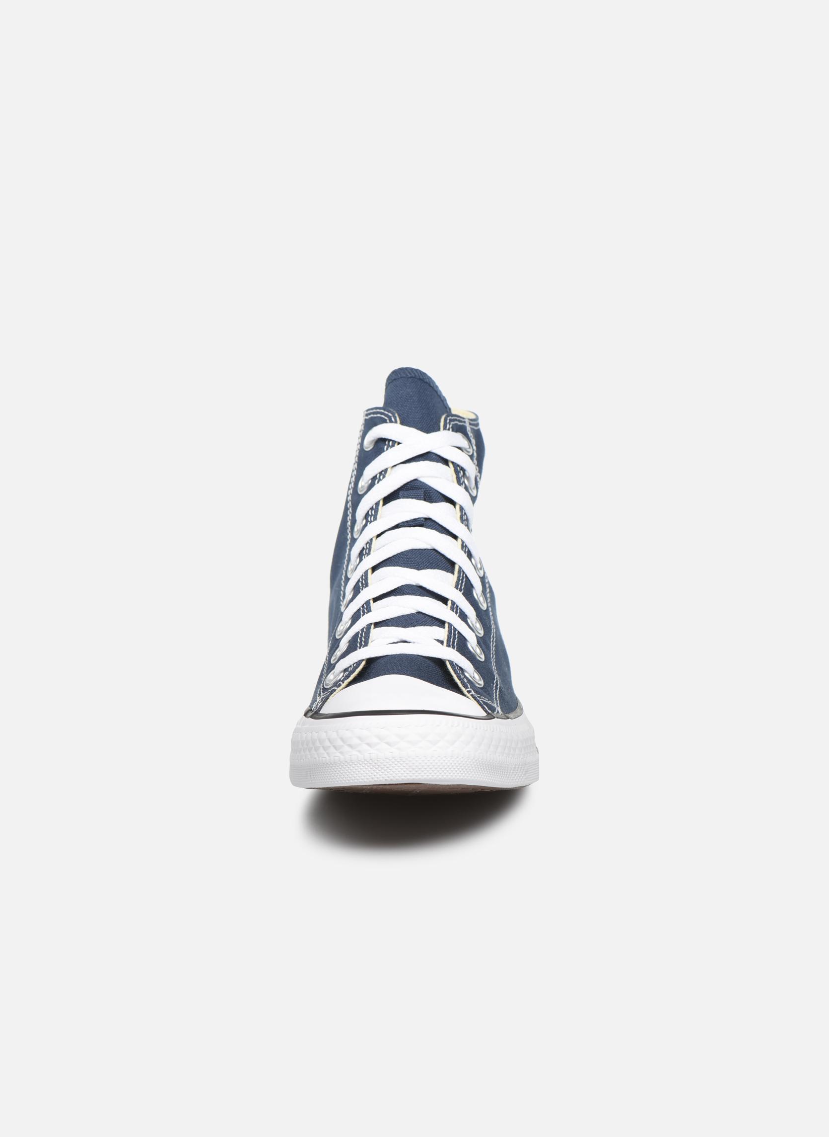 Baskets Converse Chuck Taylor All Star Hi M Bleu vue portées chaussures