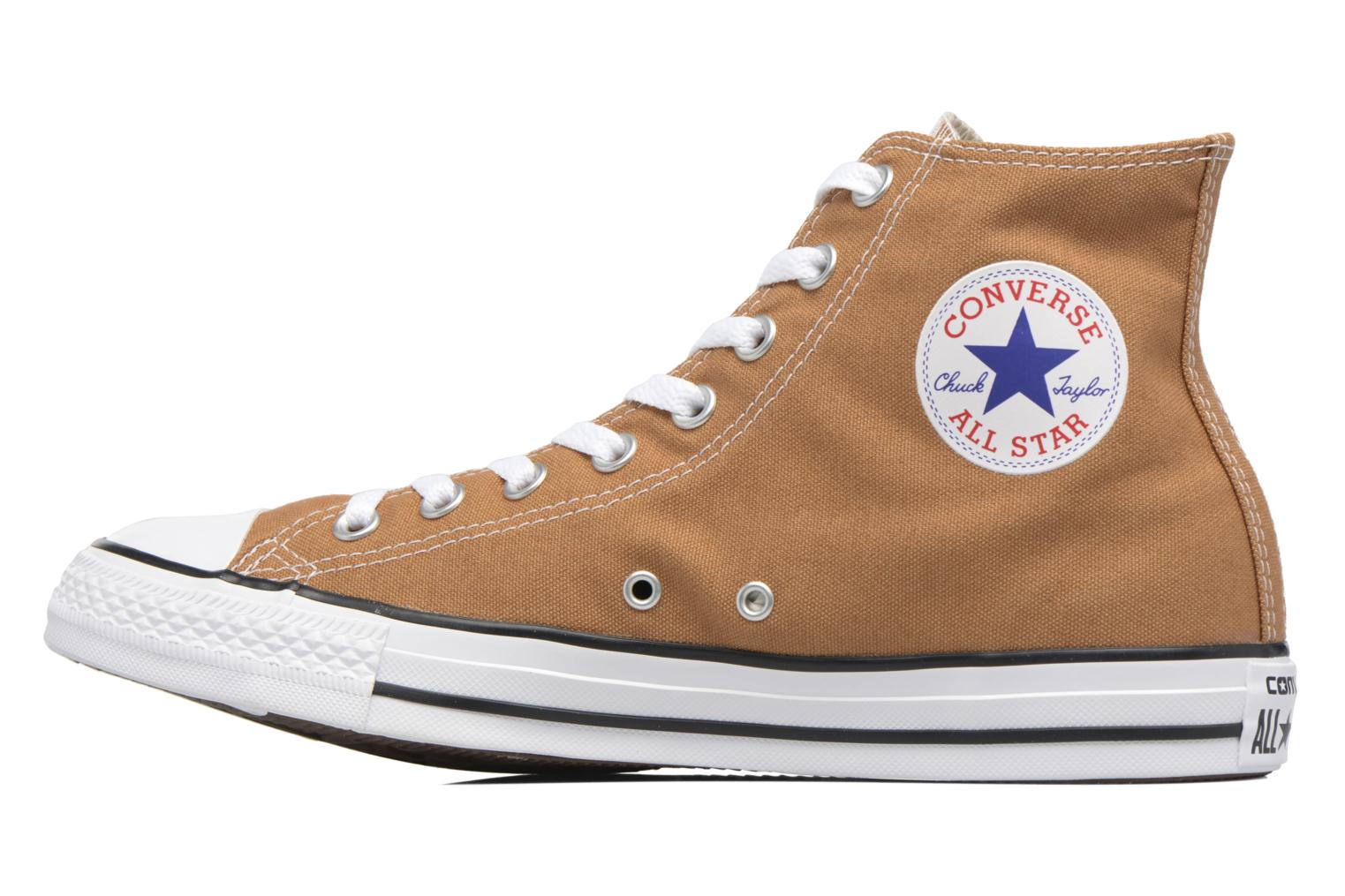 Baskets Converse Chuck Taylor All Star Hi M Marron vue face