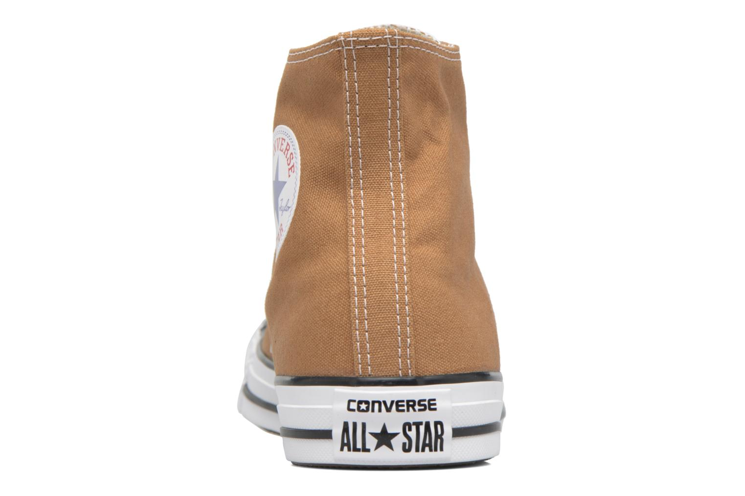 Baskets Converse Chuck Taylor All Star Hi M Marron vue droite