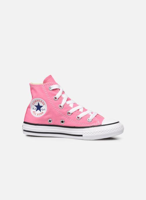 Sneaker Converse Chuck Taylor All Star Core Hi rosa ansicht von hinten