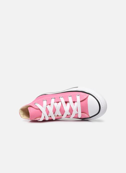 Sneaker Converse Chuck Taylor All Star Core Hi rosa ansicht von links