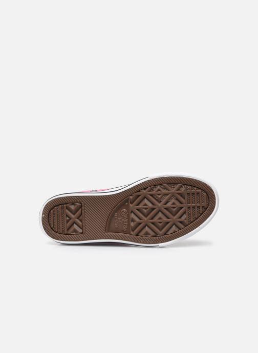 Sneaker Converse Chuck Taylor All Star Core Hi rosa ansicht von oben