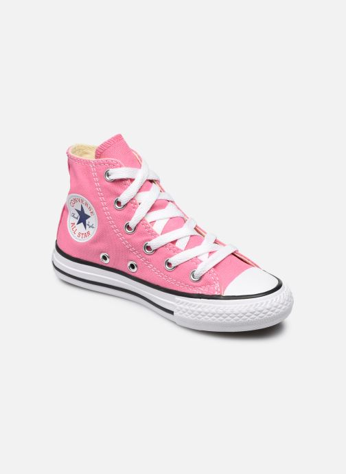 Trainers Converse Chuck Taylor All Star Core Hi Pink detailed view/ Pair view