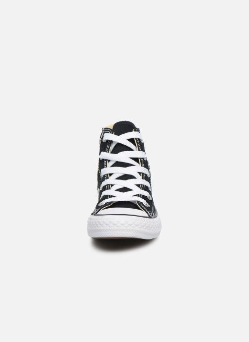 ca0b9cd54b2c9 Baskets Converse Chuck Taylor All Star Core Hi Noir vue portées chaussures