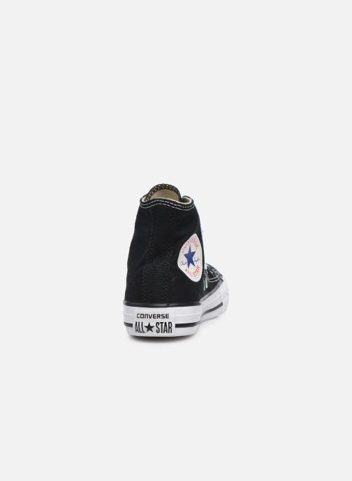 Sneakers Converse Chuck Taylor All Star Core Hi Zwart rechts
