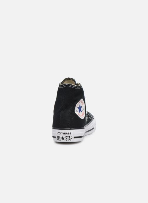 Sneaker Converse Chuck Taylor All Star Core Hi schwarz ansicht von rechts