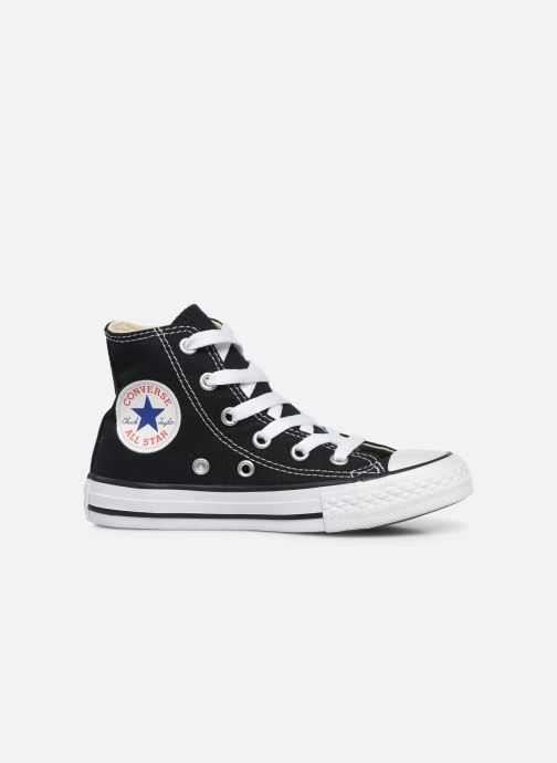 Sneaker Converse Chuck Taylor All Star Core Hi schwarz ansicht von hinten