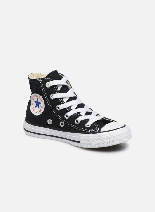 Deportivas Converse Chuck Taylor All Star Core Hi Negro vista de detalle / par