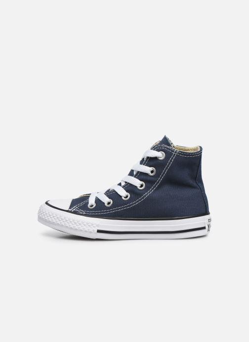 Sneaker Converse Chuck Taylor All Star Core Hi blau ansicht von vorne