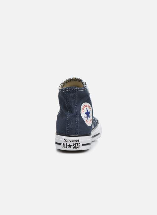 Sneaker Converse Chuck Taylor All Star Core Hi blau ansicht von rechts