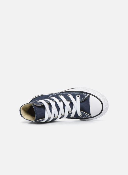 Sneaker Converse Chuck Taylor All Star Core Hi blau ansicht von links