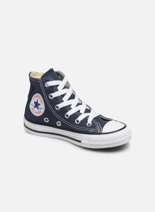 Baskets Converse Chuck Taylor All Star Core Hi Bleu vue détail/paire