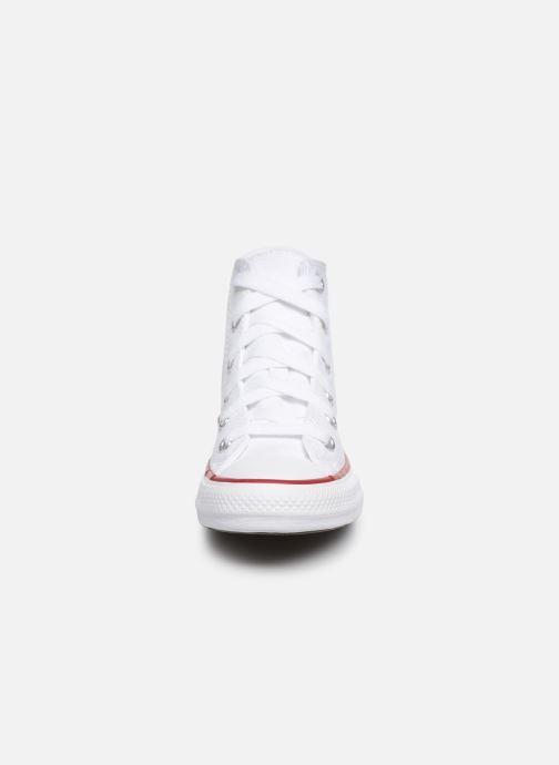 Sneaker Converse Chuck Taylor All Star Core Hi weiß schuhe getragen