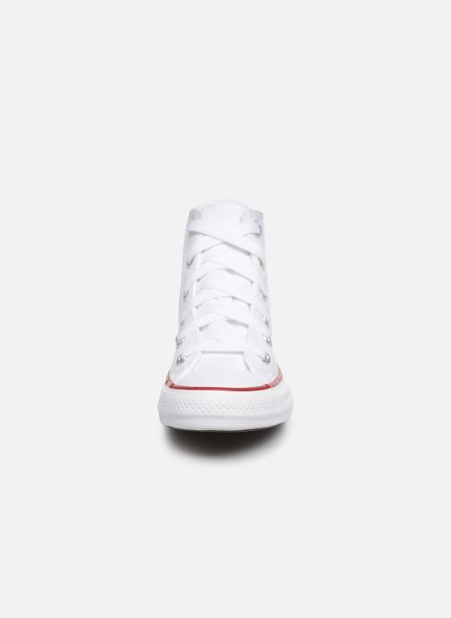 Baskets Converse Chuck Taylor All Star Core Hi Blanc vue portées chaussures