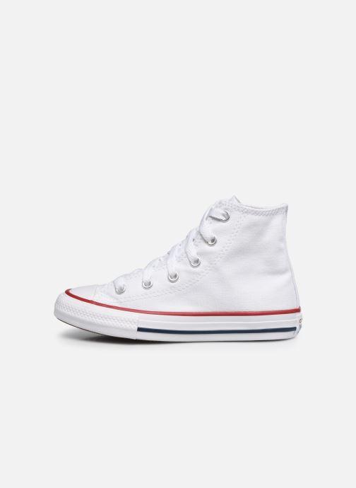 Sneaker Converse Chuck Taylor All Star Core Hi weiß ansicht von vorne
