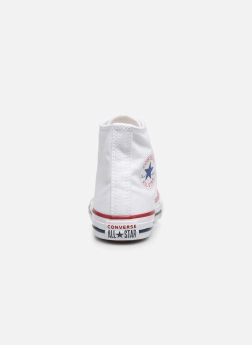 Sneaker Converse Chuck Taylor All Star Core Hi weiß ansicht von rechts
