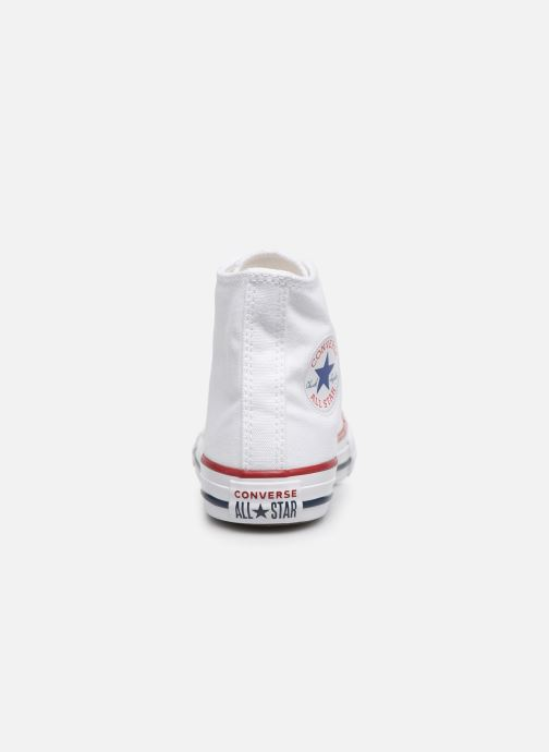 Baskets Converse Chuck Taylor All Star Core Hi Blanc vue droite