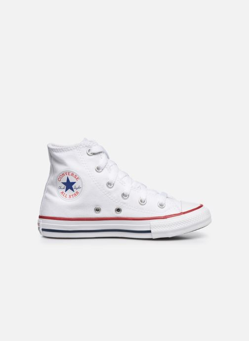 Sneaker Converse Chuck Taylor All Star Core Hi weiß ansicht von hinten