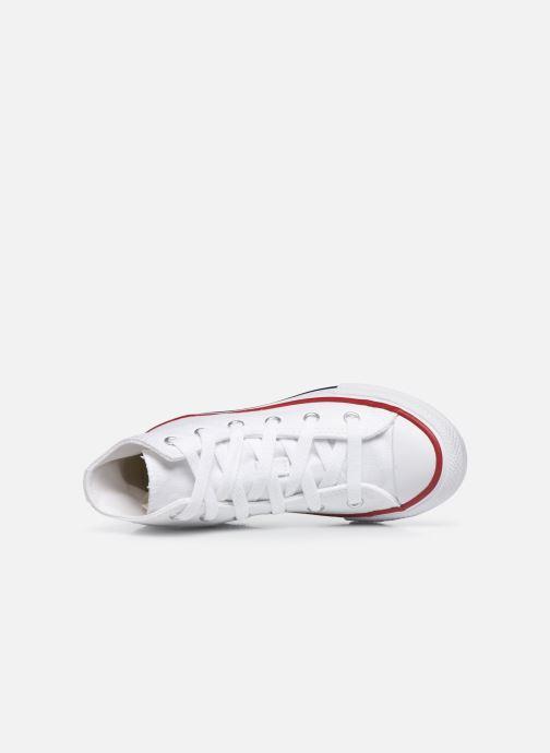 Sneaker Converse Chuck Taylor All Star Core Hi weiß ansicht von links