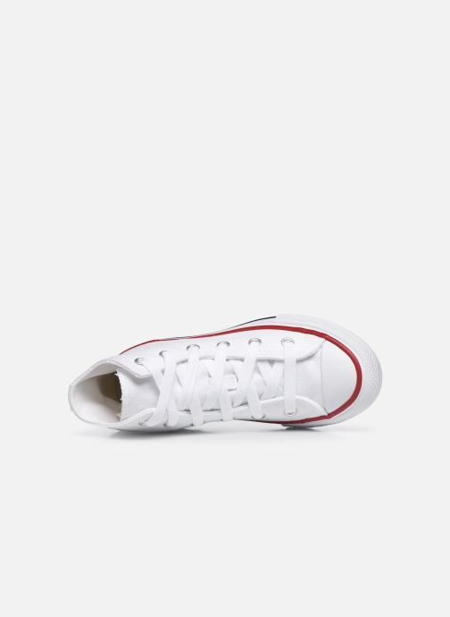 Baskets Converse Chuck Taylor All Star Core Hi Blanc vue gauche
