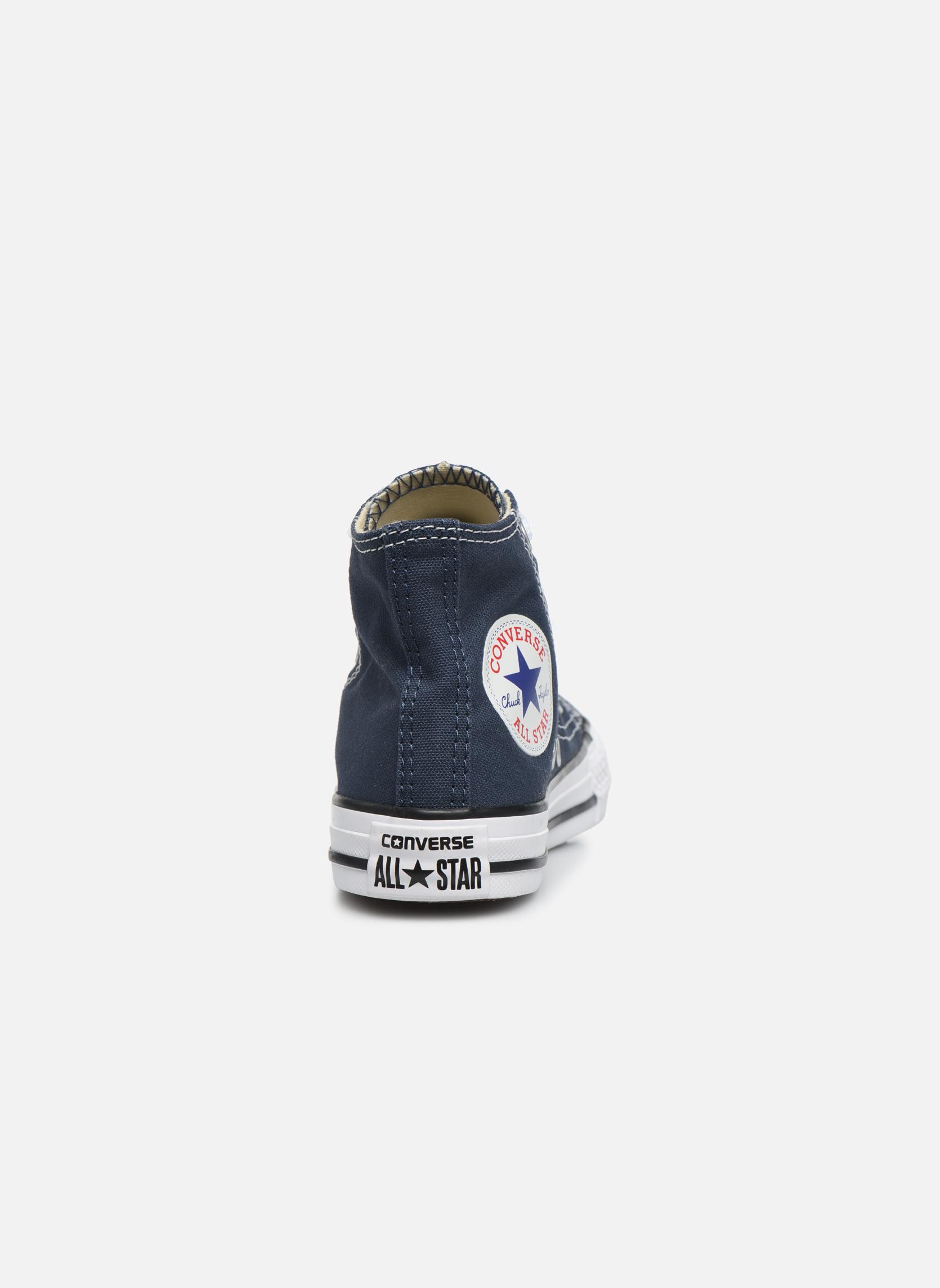 Sneakers Converse Chuck Taylor All Star Core Hi Azzurro immagine destra