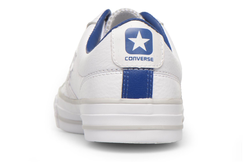 Baskets Converse Star Player Cuir Ev W Blanc vue droite