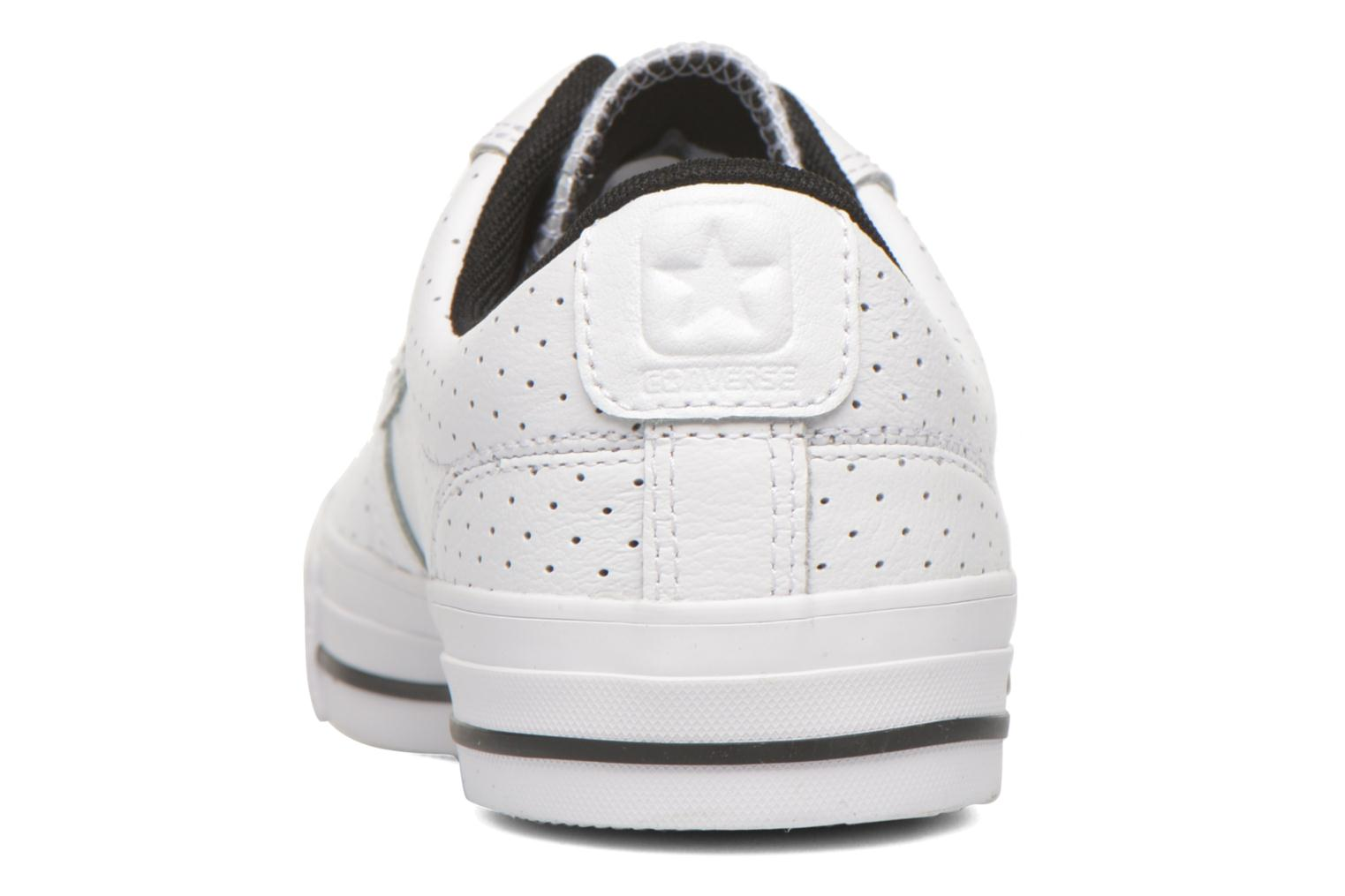 Baskets Converse Star Player Cuir Ev W Blanc vue droite