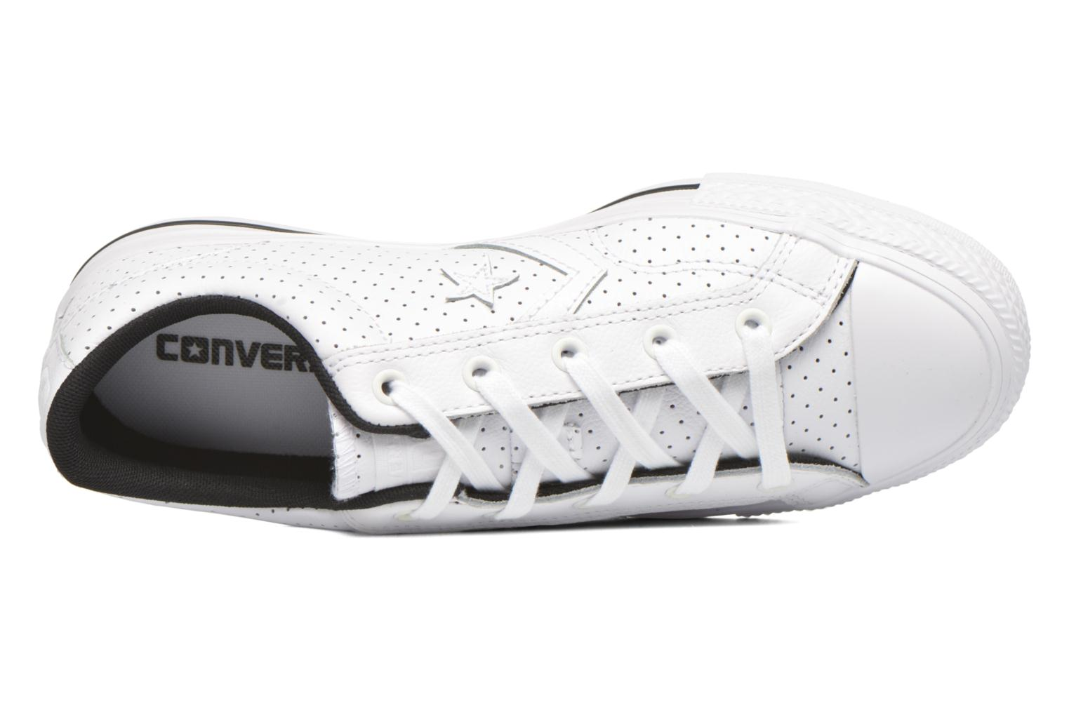 Baskets Converse Star Player Cuir Ev W Blanc vue gauche