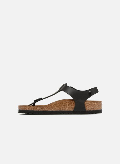 Sandales et nu-pieds Birkenstock Kairo Flor W Noir vue face