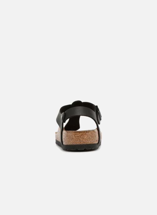 Sandales et nu-pieds Birkenstock Kairo Flor W Noir vue droite