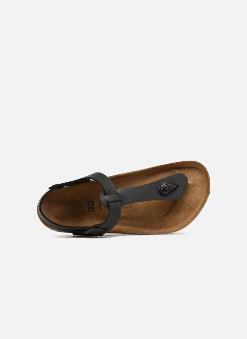 Sandales et nu-pieds Birkenstock Kairo Flor W Noir vue gauche