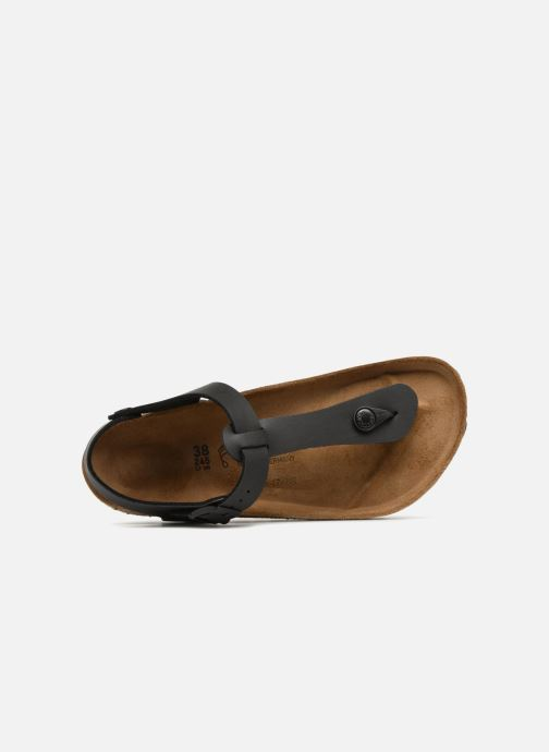 Sandali e scarpe aperte Birkenstock Kairo Flor W Nero immagine sinistra