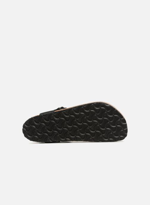 Sandales et nu-pieds Birkenstock Kairo Flor W Noir vue haut