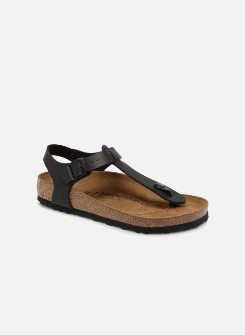 Sandales et nu-pieds Birkenstock Kairo Flor W Noir vue détail/paire