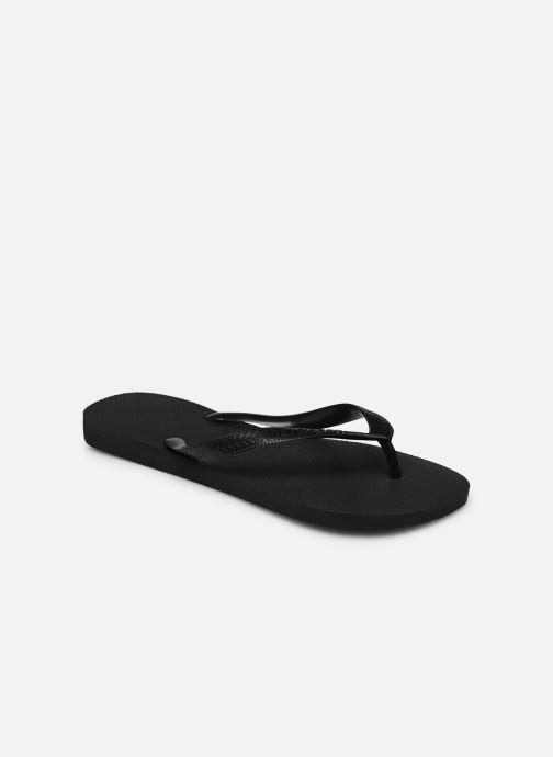 Zehensandalen Havaianas Top H schwarz schuhe getragen