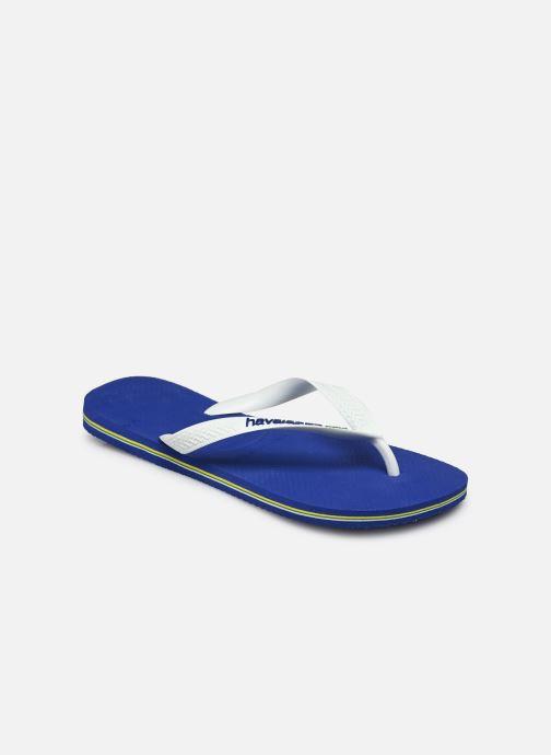 Flip flops Havaianas Brazil Logo H White model view