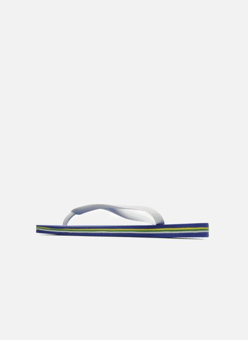 Slippers Havaianas Brazil Logo H Wit voorkant