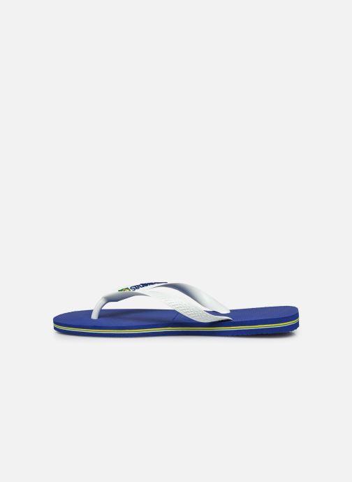 Flip flops & klipklapper Havaianas Brasil Logo H Hvid se forfra