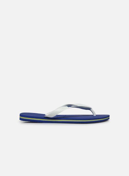 Flip flops Havaianas Brazil Logo H White back view